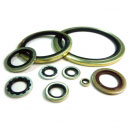 Rubber metalen ring - Washer 0001